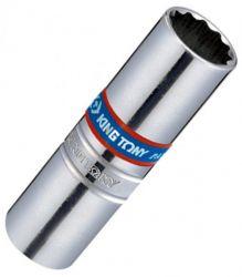 Chave para Velas 14mm Estriada 3/8 com Borracha 36B014 King Tony