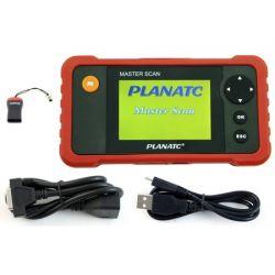 Scanner Automotivo Profissional para Diagnostico Injeção Eletronica Master Scan Planatc