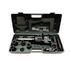 Kit Chave de Impacto Pneumatica 1Pol Eixo Longo 2200Nm PN1002220 Potente Brasil