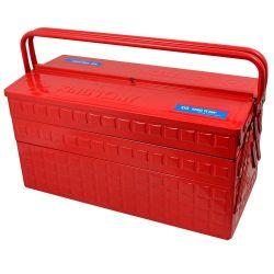 Caixa de Ferramentas Metalica Sanfonada 5 Gavetas Vermelha 87A05A King Tony