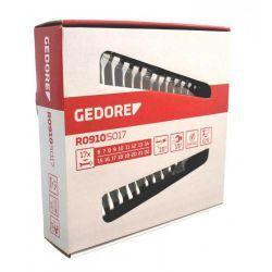 Jogo de Chave Combinada 6 a 22mm com 17pçs R09105017 Gedore Red