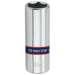 Soquete Sextavado Longo 13mm 1/4 223513 King Tony