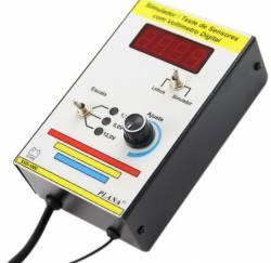 Teste e Simulador de Sensores com Voltimetro Digital SVD-1000 Planatc