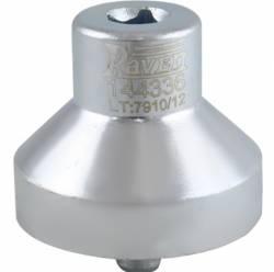 Chave 52mm para o Coxim Elastico de Fixaçao Superior do Amortecedor Traseiro Uno Raven 144336
