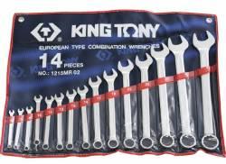 Jogo de Chave Combinada 6 a 32mm 15pçs 1215MR02 King Tony
