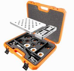 Kit de Ferramentas 29pçs para Extrair e Instalar Rolamentos de Rodas Dianteiras Raven 103100