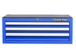 Gabinete metálico com 3 gavetas Azul 87421-3C King Tony