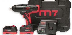 """Kit Chave de Impacto 1/2"""" com 2 Baterias e Carregador DW-18502  King Tony M7"""