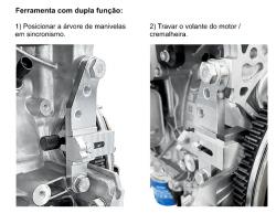 Ferramenta para Sincronismo e Travar Volante do Motor GM Onix 1.0 12V turbo Ecotec Raven 131018
