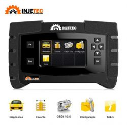 Scanner Automotivo Profissional para Ciclo Otto e Diesel Leve IJ-2153 Injetec