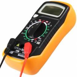 Multimetro Automotivo Digital com Temperatura MAS-838 Leetools