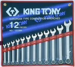 Jogo de Chave Combinada 8 a 22mm 12pçs 1212MR King Tony